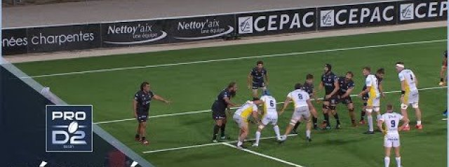 PRO D2 HIGHLIGHTS: Provence Rugby vs USON Nevers