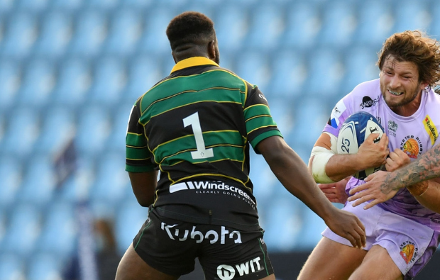 The Funny Reason Why Northampton Saints Coach Matt Ferguson Converted Manny Iyogun To Prop Ultimate Rugby Players News Fixtures And Live Results