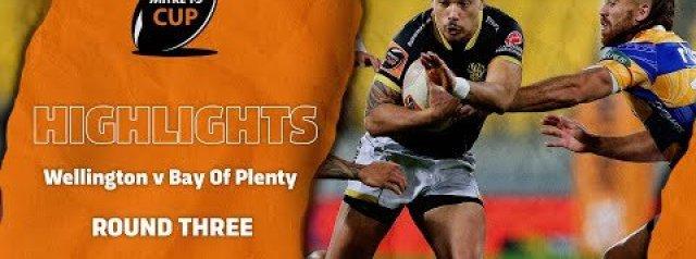 Mitre 10 Cup RD 3 HIGHLIGHTS | Wellington v Bay Of Plenty