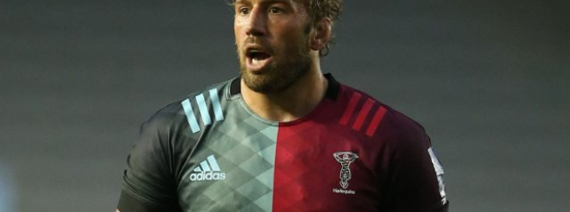 Chris Robshaw leads Quins in his final game at the Stoop