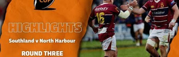 Mitre 10 Cup RD 3 HIGHLIGHTS | Southland v North Harbour
