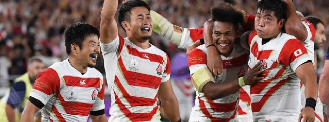One Year Ago Today: Japan pull off a famous Rugby World Cup upset over Ireland