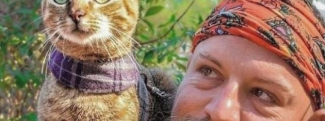 The cat who hitched a lift on a worldwide tour with former Edinburgh's Dean Nicholson