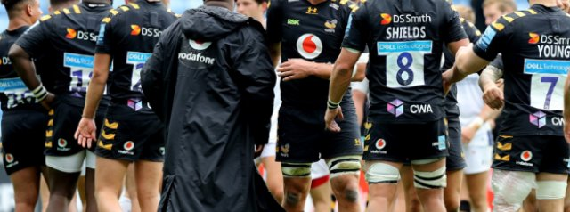 Wasps' participation in final in precarious position
