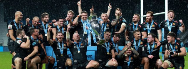 Exeter Chiefs beat Wasps and secure the double