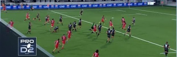 PRO D2 RD 7 HIGHLIGHTS: Provence Rugby vs Rouen