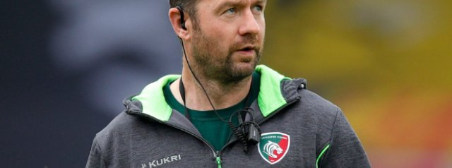 Geordan Murphy says goodbye to Leicester Tigers