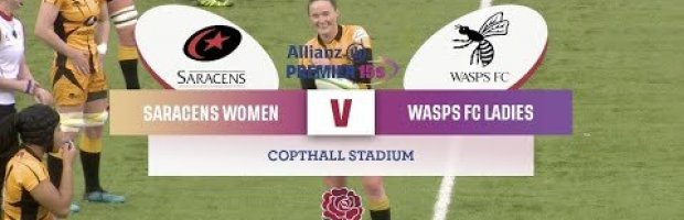 VIDEO HIGHLIGHTS: Saracens Women v Wasps FC Ladies