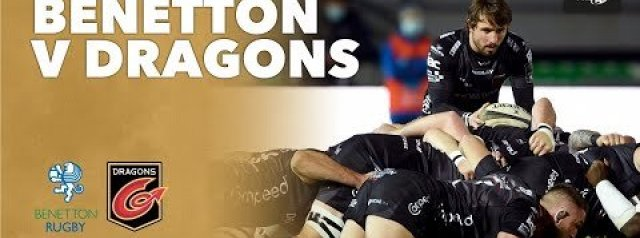 PRO 14 RD 8 Highlights: Benetton Rugby Vs Dragons