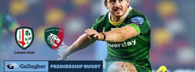 Premiership Highlights: London Irish v Leicester