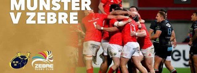 PRO 14 Highlights: Munster Rugby v Zebre Rugby