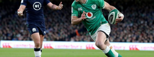 Ireland not going backwards, says Sexton