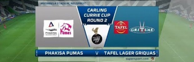 VIDEO HIGHLIGHTS: Pumas v Griquas