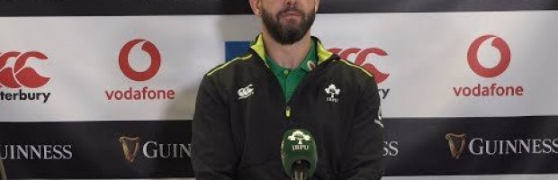 Ireland Head Coach spoke to media following his side's victory o