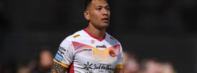 Israel Folau linked with a return to union with TOP14 clubs interested
