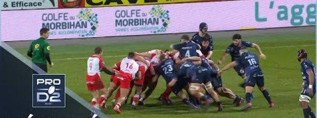 PRO D2 Round 16 Highlights: Vannes vs Biarritz Olympique