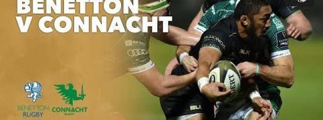 HIGHLIGHTS: Benetton Rugby v Connacht Rugby