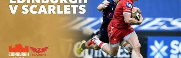 VIDEO HIGHLIGHTS: Edinburgh Rugby v Scarlets
