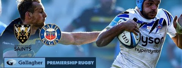 HIGHLIGHTS: Northampton Saints v Bath Rugby