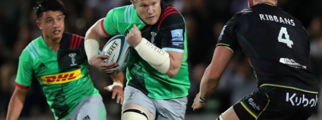 Quins go toe-to-toe with Saints at the Stoop