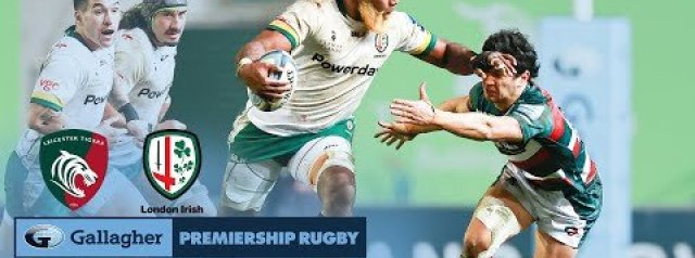 HIGHLIGHTS: Leicester Tigers v London Irish