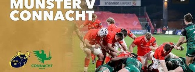 HIGHLIGHTS: Munster Rugby v Connacht Rugby