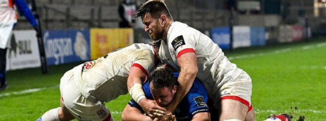Leinster into the Pro 14 Final as Ulster see red