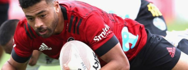 Crusaders power past Hurricanes in Christchurch