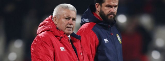 Report: Three key coaches pull out of British and Irish Lions Tour