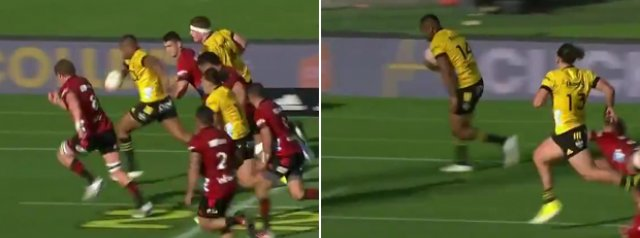 The BUS still has it! Watch Julian Savea try against the Crusaders