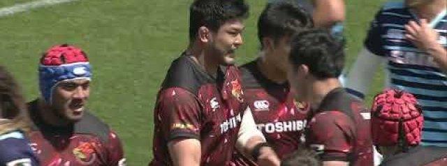 VIDEO HIGHLIGHTS: Munakata Sanix Blues v Toshiba Brave Lupus