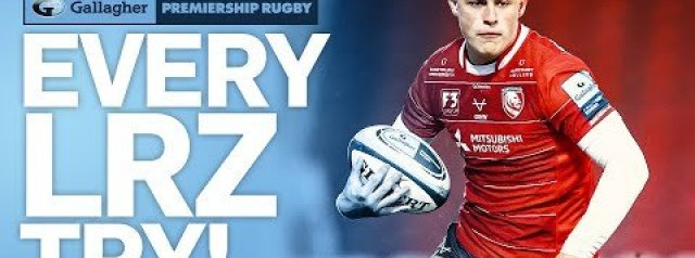 Every Louis Rees-Zammit try in the Premiership