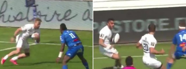 WATCH: Toulouse score a wonder try from their OWN tryline