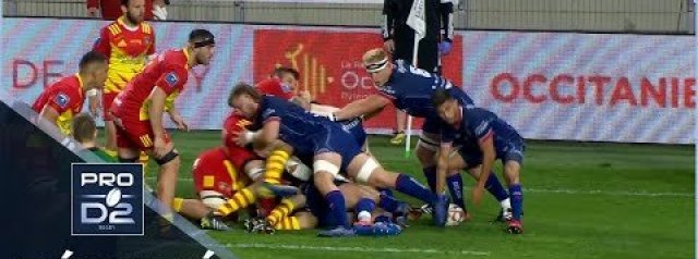 Pro D2 Highlights Beziers vs USA Perpignan