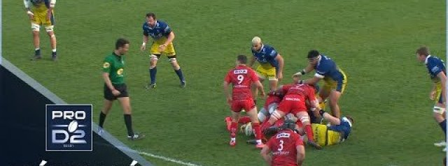Pro D2 Highlights USON Nevers vs US Oyonnax