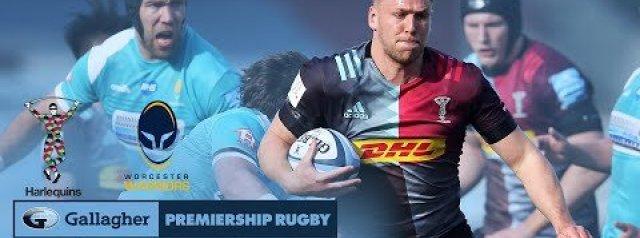 Premiership Rugby Highlights Harlequins vs Worcester Warriors