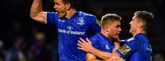 Sexton out of Leinster's Munster clash