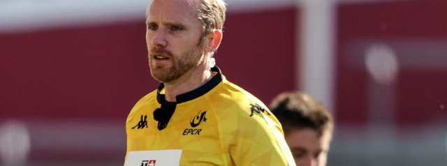 Barnes and Carley to take charge of Champions Cup semi-finals