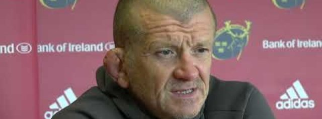Hear from Graham Rowntree and Peter O'Mahony ahead of Munster's opening round of the PRO14 Rainbow Cup against Leinster at the RDS.