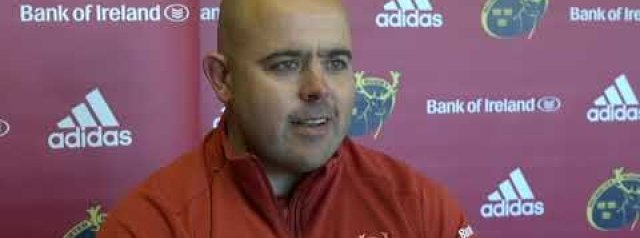 Hear from Defence Coach JP Ferreira and Dave Kilcoyne ahead of Munster's clash against Ulster