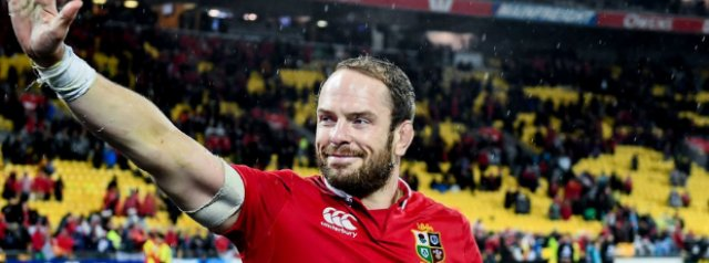 Alun Wyn Jones to captain Lions in South Africa