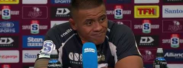 Super Rugby AU Final: Brumbies press conference