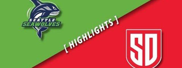 MLR Highlights: Seattle Seawolves Vs San Diego Legion