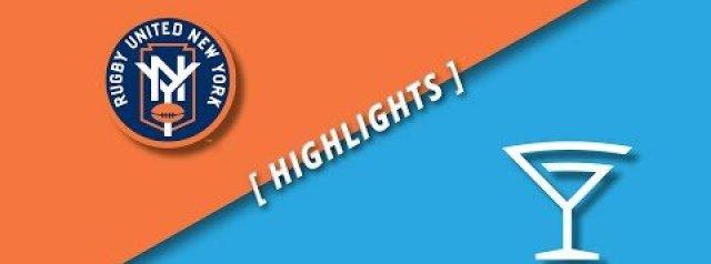 MLR Highlights: Rugby United New York Vs LA Giltinis