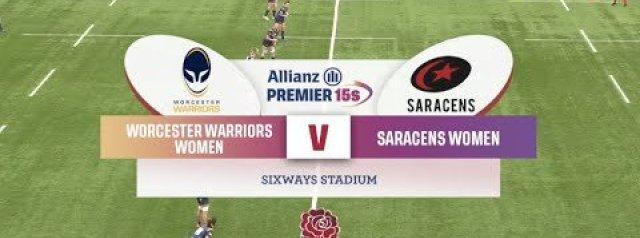 Allianz Premier 15s Highlights: Worcester Warriors Women Vs Saracens Women