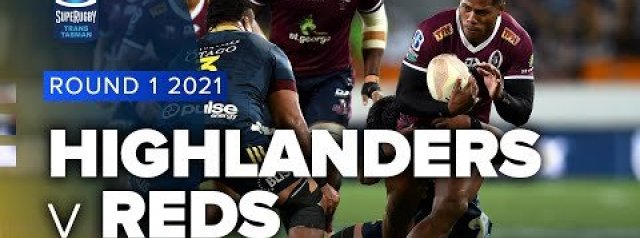 HIGHLIGHTS: Highlanders v Queensland Reds
