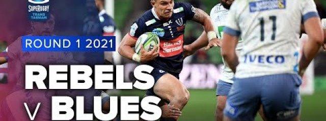 HIGHLIGHTS: Melbourne Rebels v Blues