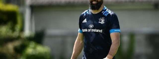Scott Fardy press conference   Leinster Rugby v Dragons   PRO14 Rainbow Cup