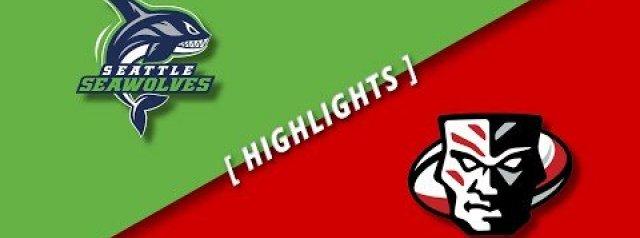 HIGHLIGHTS: Seattle Seawolves v Utah Warriors