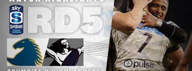 HIGHLIGHTS: ACT Brumbies v Highlanders